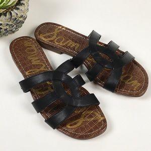 Sam Edelman Bryna Slide Sandals Black Size 10